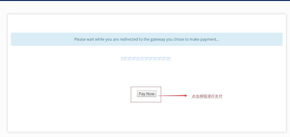 OneVPS新手购买教程-付款过渡页面