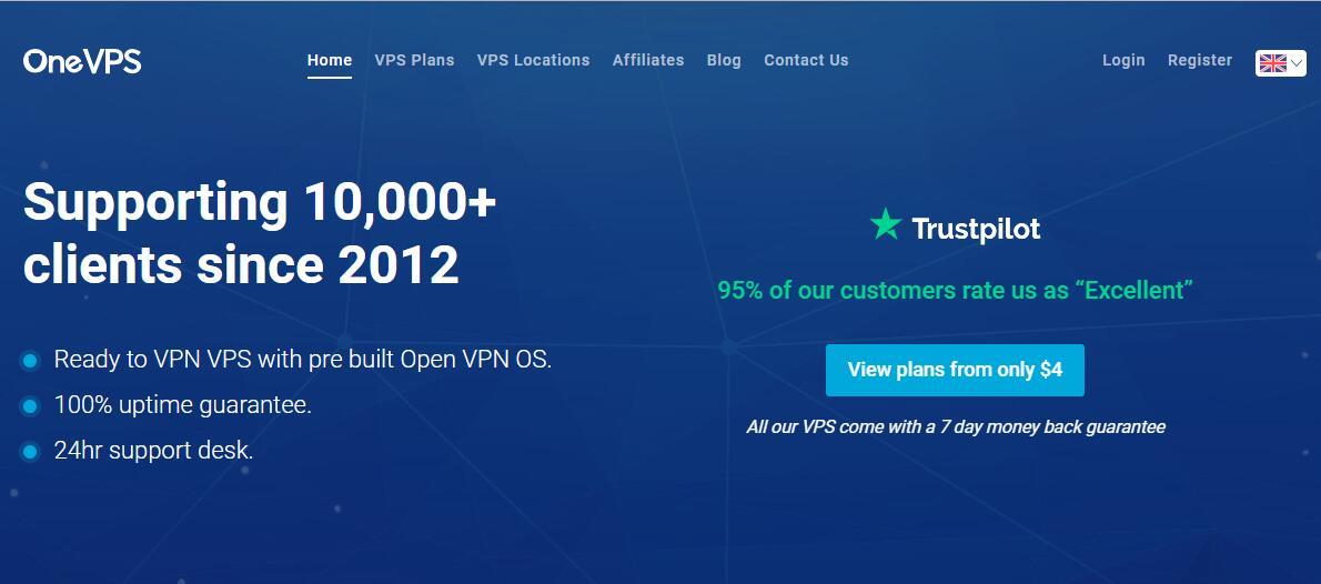 国外VPS OneVPS - 大带宽 - 速度快