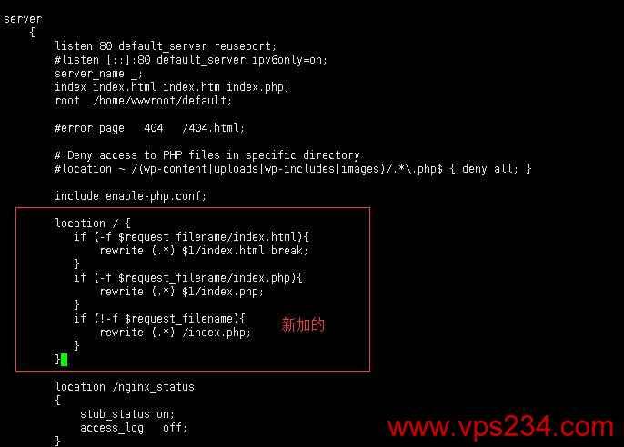 Linux 安装WordPress Nginx 404错误解决