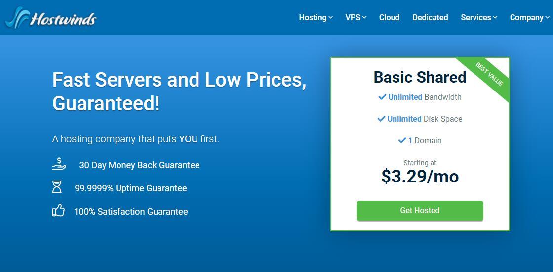 美国VPS Hostwinds 新手教程