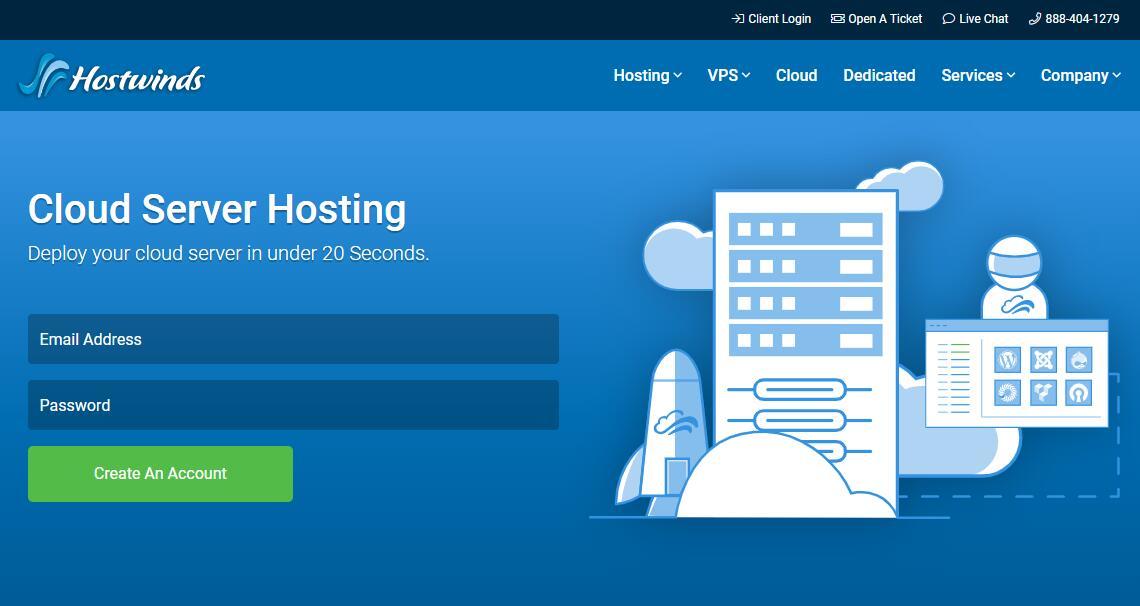 美国VPS Hostwinds 作为CloudCone的替代品非常的不错
