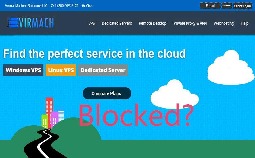 2020 VirMach被墙解决办法 - VirMach IP被封Ping不通的朋友必看教程