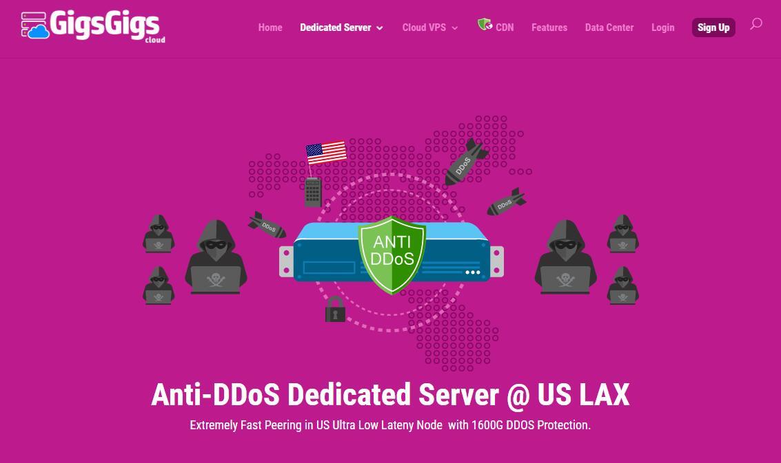 便宜美国独立服务器推荐 - GigsGigs