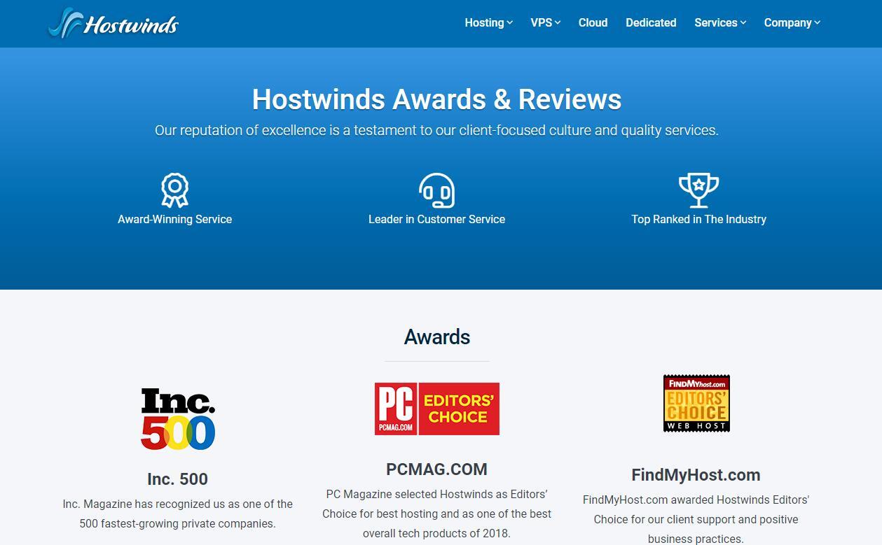 美国VPS - Hostwinds