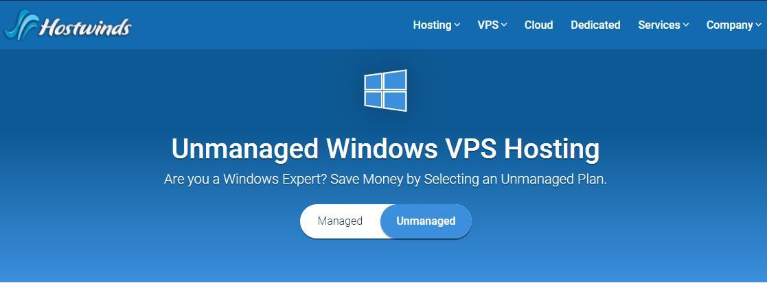 美国 Windows VPS - Hostwinds