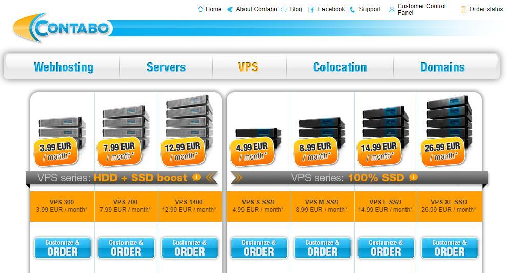 DDoS 防御VPS - Contabo