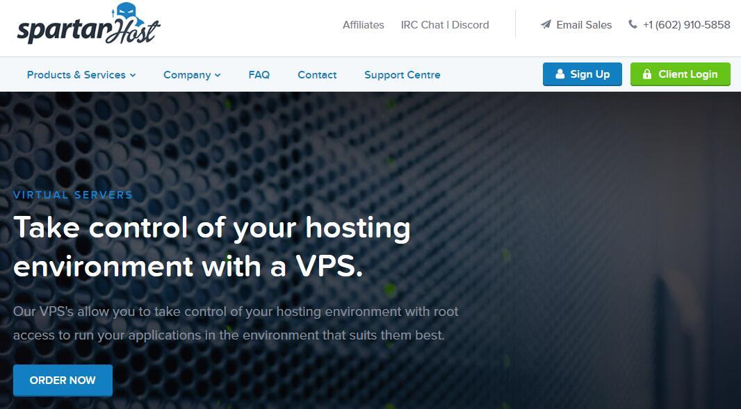 DDoS 防御VPS - spartanhost