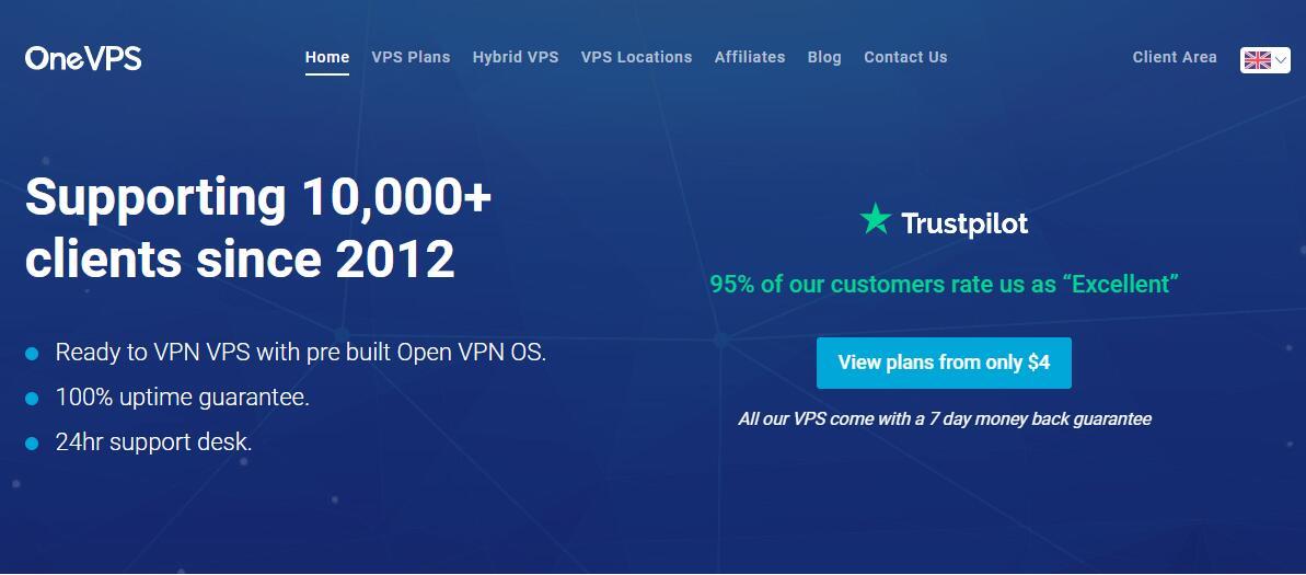 无限流量国外VPS OneVPS 推荐