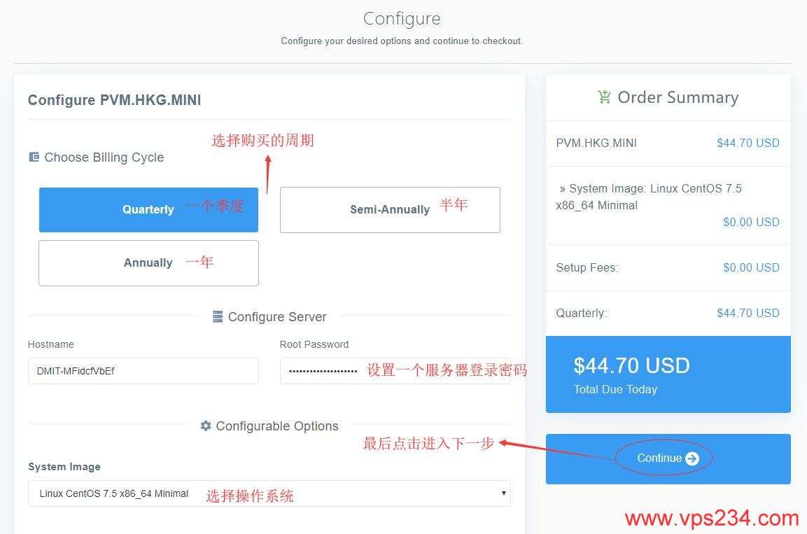 香港VPS DMIT购买配置选择