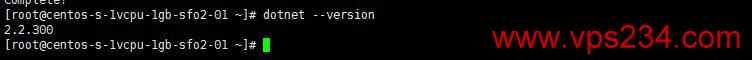 Linux 搭建.NET Core教程 - 检查是否安装.NET Core成功