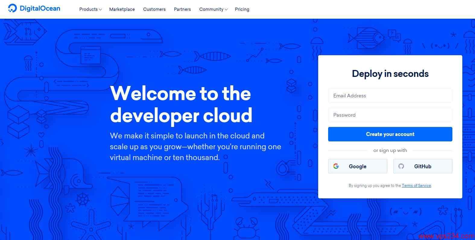 全球第4大云服务商 DigitalOcean 强烈推荐