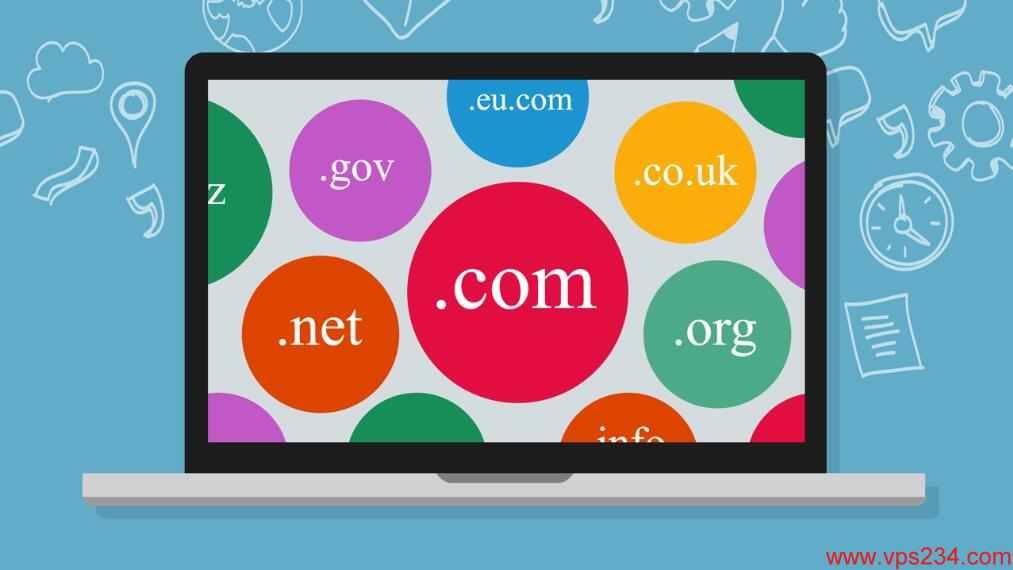 个人博客搭建选择域名