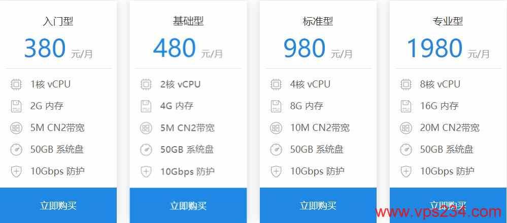 磐石云香港VPS CN2线路