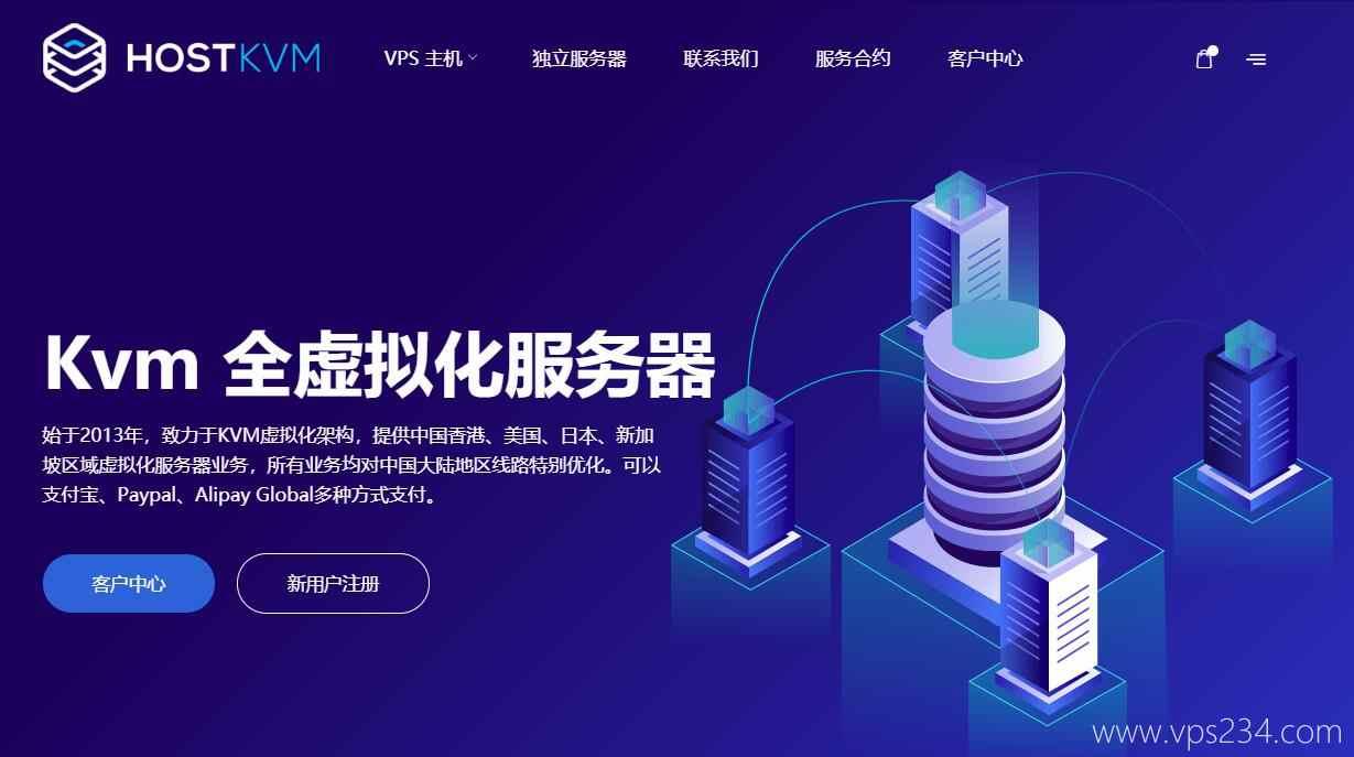 香港 VPS HostKvm - 适合建站