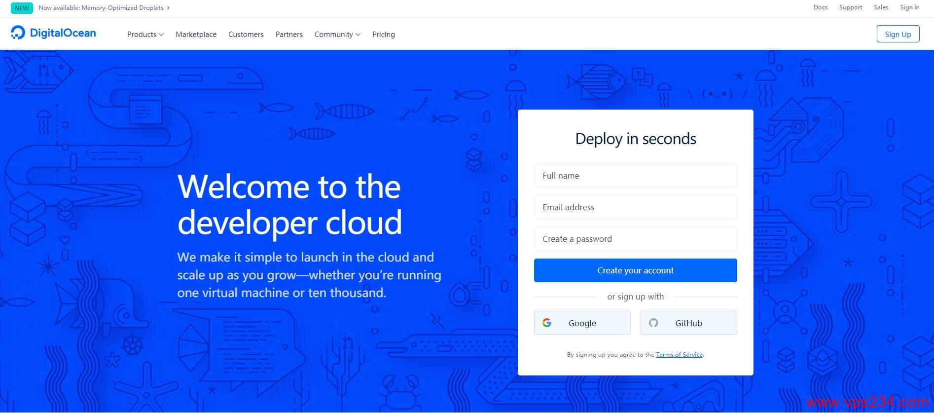 DigitalOcean - 全球第4大云服务商