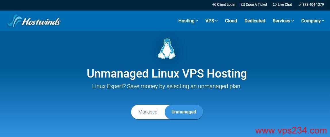 Hostwinds 自己后台可以免费换IP