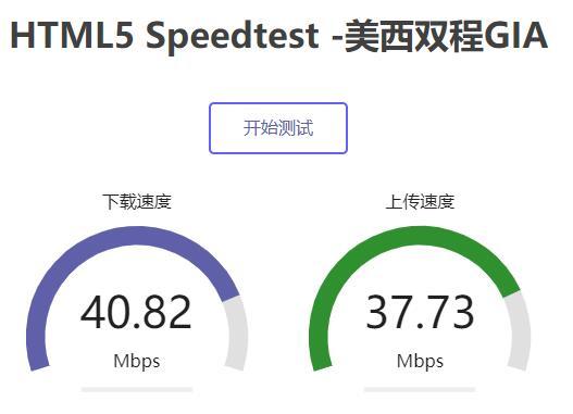 极光互联美国VPS本地下载速度测试