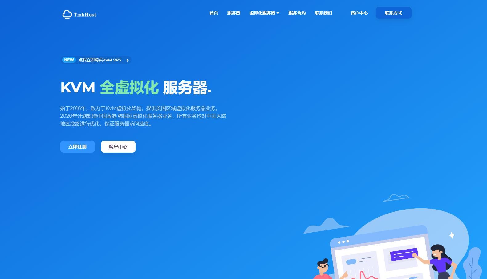 TmhHost 香港VPS测评 - CN2线路无限流量