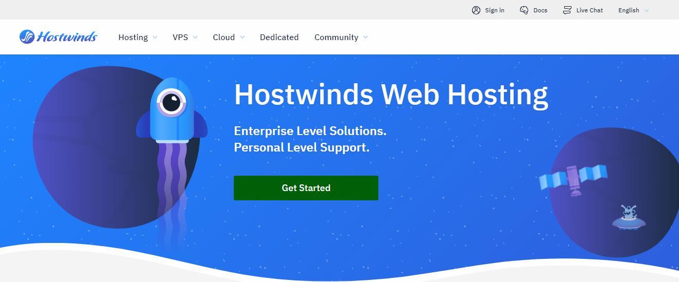5美元以内VPS - Hostwinds