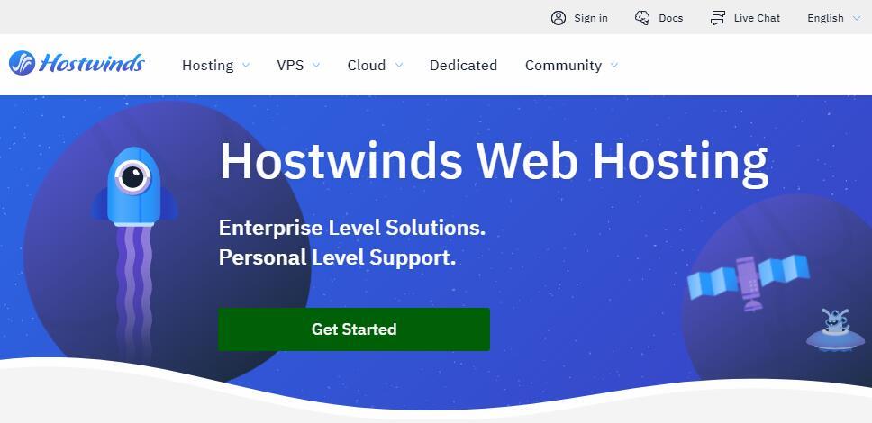 WordPress博客主机选择 - Hostwinds