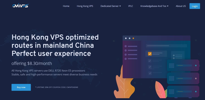 香港CN2 GIA VPS - CMIVPS