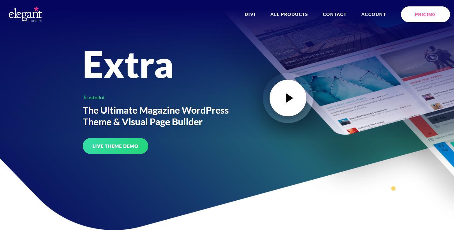 WooCommerce主题 - Extra