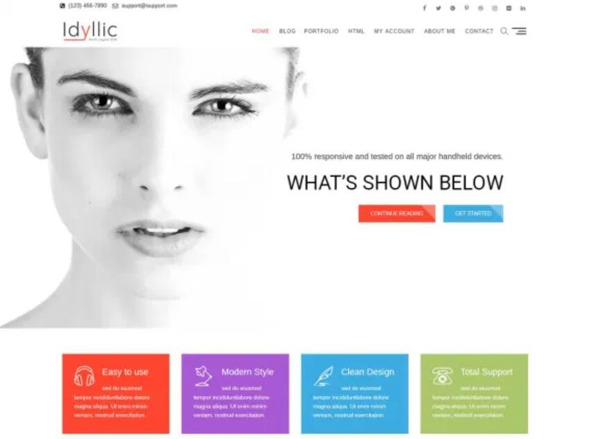 WooCommerce主题推荐 - Idyllic