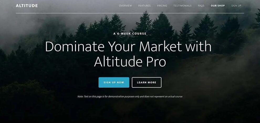 WooCommerce主题 - Altitude Pro