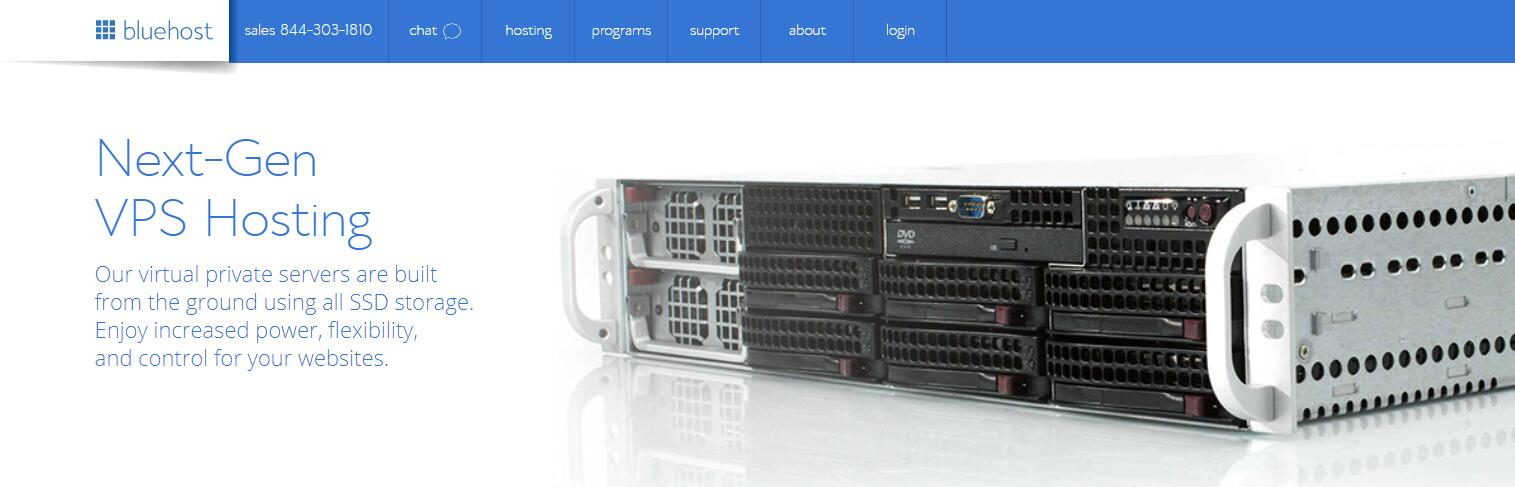 BlueHost 美国 Linux VPS