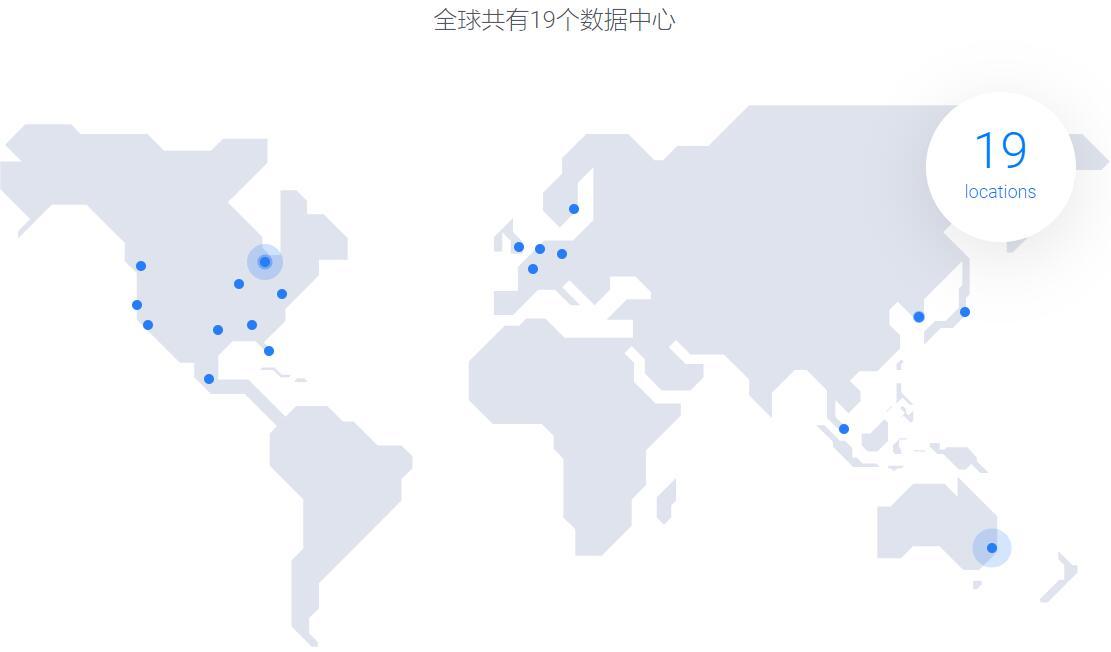 Vultr 数据中心分布图