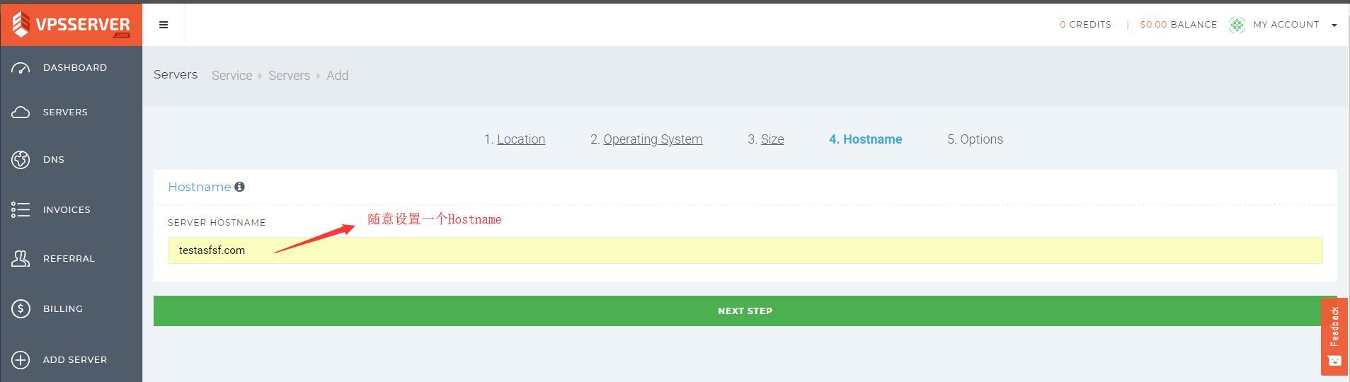 VPSServer Hostname 设置