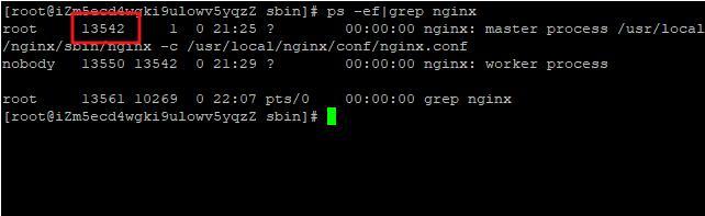 杀死Nginx进程