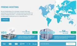 便宜国外VPS Friendhosting 测评 - 欧洲美国数据节点支持