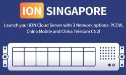 iON 新加坡VPS CN2线路优惠推荐