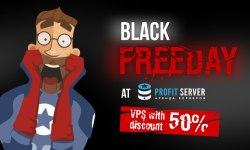 俄罗斯VPS profitserver 黑色星期五5折优惠