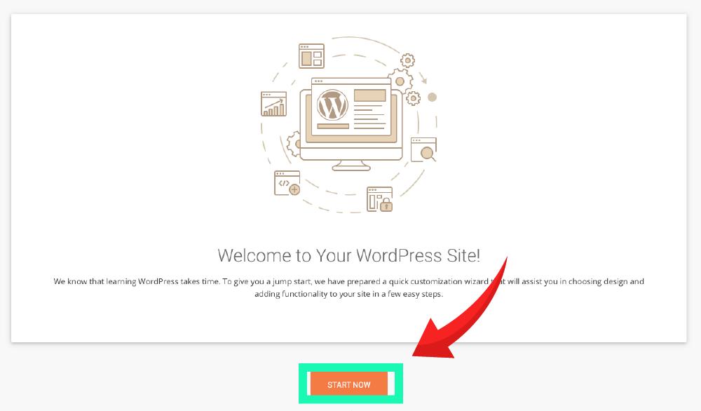 网站建设 :SiteGround wordpress 网站登录