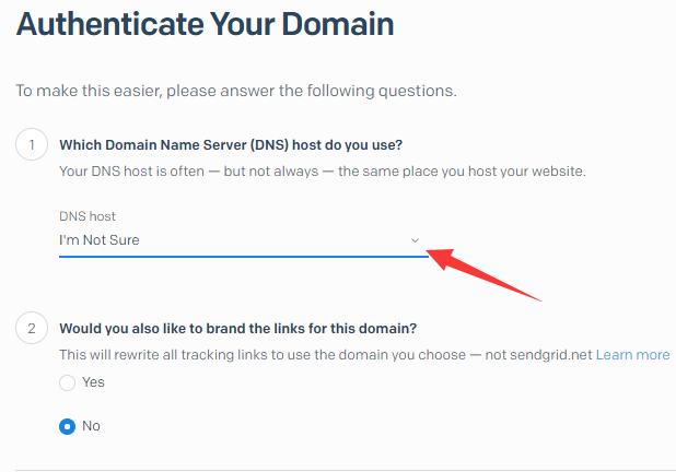 外贸网站搭建教程 - SendGrid邮件服务器DNS服务商选择