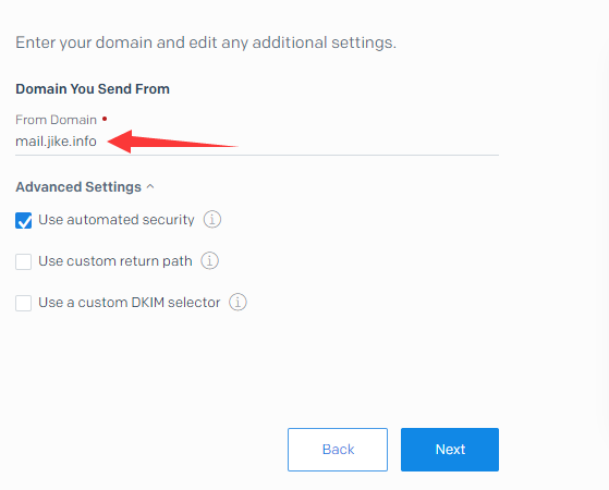 外贸网站搭建教程 - SendGrid邮件服务器高级选项