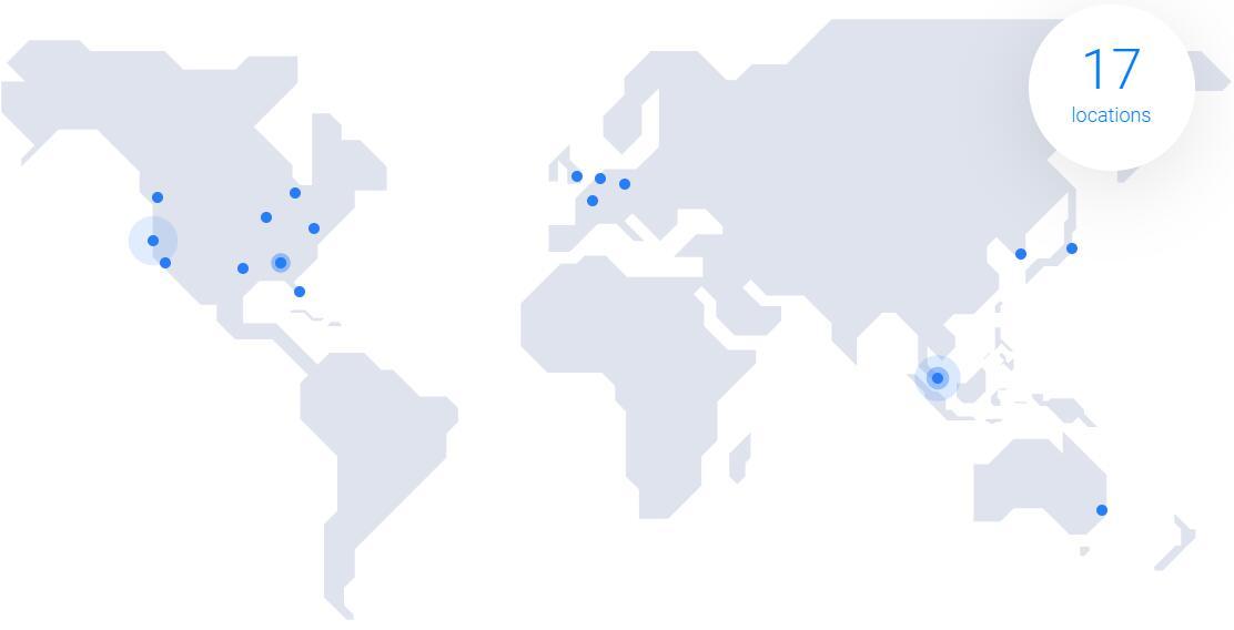 Vultr全球数据中心