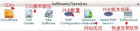 cpanel教程php配置