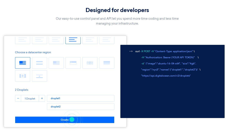 DigitalOcean VPS为开发者提供便利